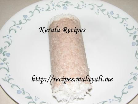 Kerala Rice Puttu