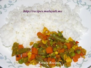 Mixed Vegetable Stir Fry