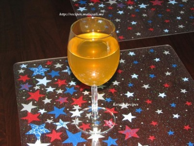 Colored Grape Wine
