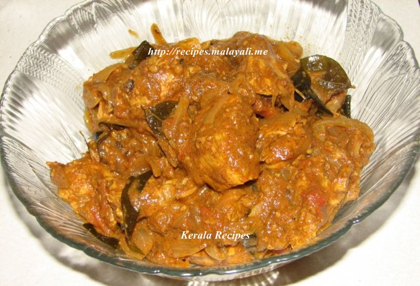 Spicy Kerala Chicken Masala