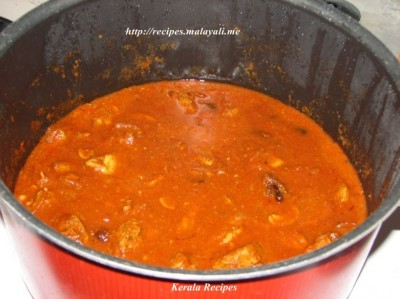 Butter Chicken before adding Whipping Cream