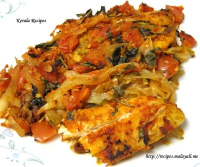 Baked Fish with Indian Spices