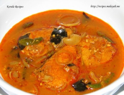 Fish Curry Recipe on Kerala Meen Curry With Kudam Puli