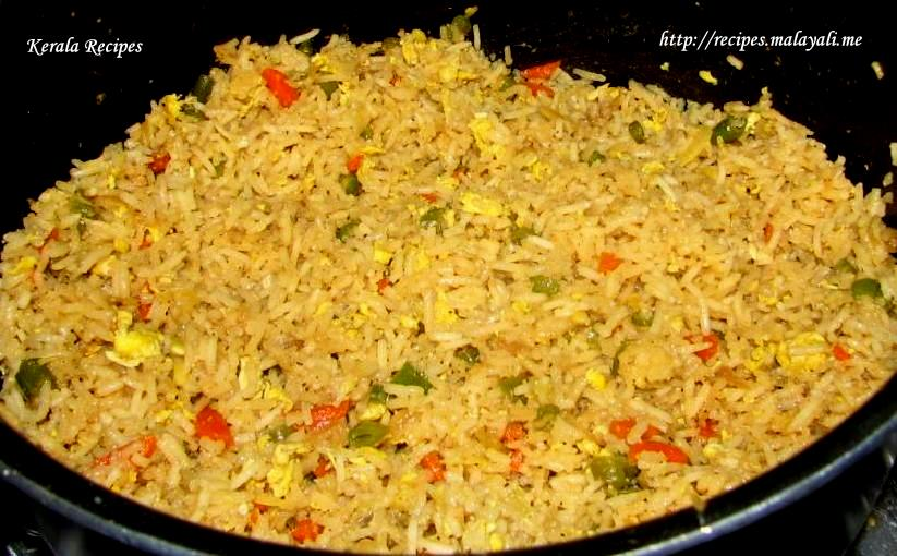 the Recipe for an Easy to Prepare and Tasty Home Made Egg Fried Rice ...