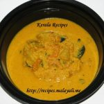 Dried Prawns Mango Curry