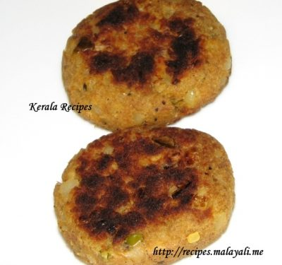 Tuna Fish Cutlets