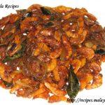 Unakka Chemmeen Varuthathu - Spicy Dried Prawns Stir Fry