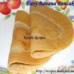 Sweet Banana Pancakes