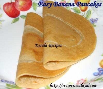 Easy Banana Pancakes « Kerala Recipes