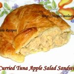 Curried Tuna Apple Salad Sandwich
