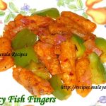 Spicy Fish Fingers