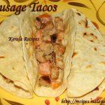 Sausage Tacos