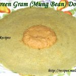 Whole Green Gram (Mung Bean) Dosa - Pesarattu