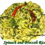 Spinach and Broccoli Rice
