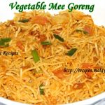 Vegetable Mee Goreng