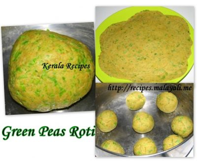 making green peas chappathis ingredients fresh or frozen green peas