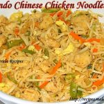 Indo Chinese Chicken Noodles