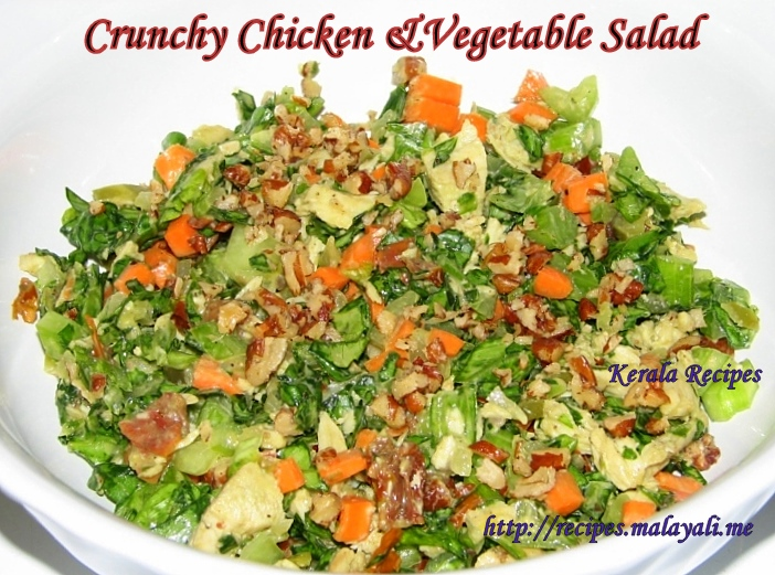 Cruchy Chicken & vegetable Salad
