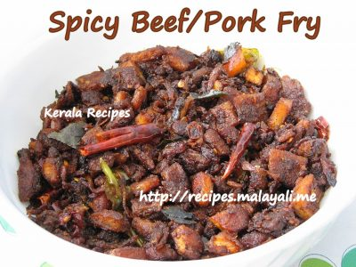 Spicy Beef/Pork Fry