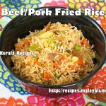 Beef/Pork Fried Rice