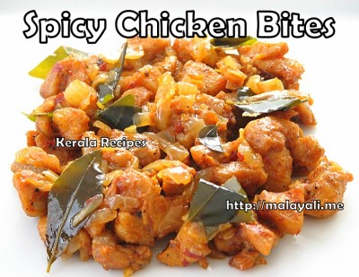 Spicy Chicken Bites