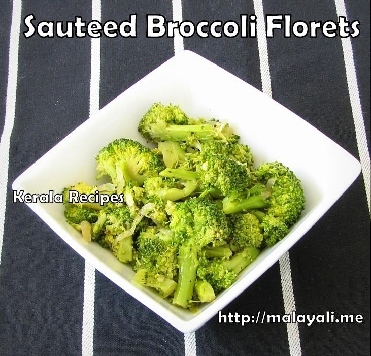 Sauteed Broccoli With Floret Vinaigrette Recipe — Dishmaps