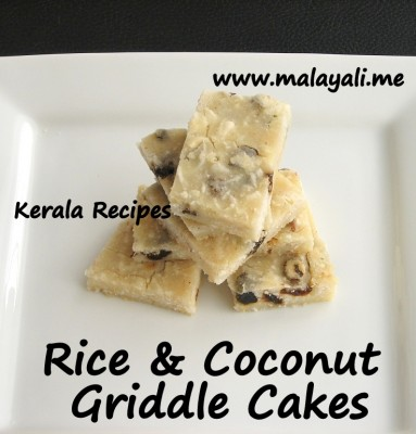 Rice & Coconut Cakes