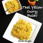 Thai Style Yellow Curry Pulav