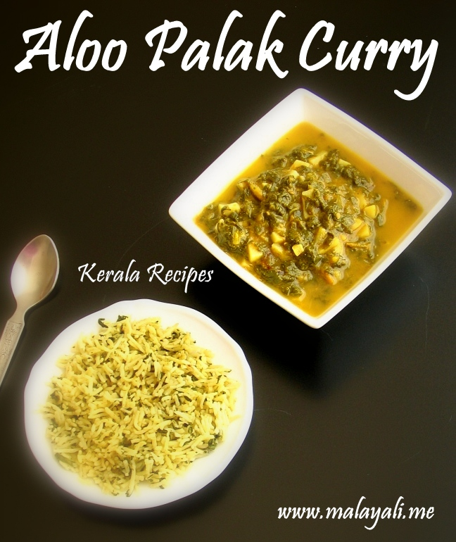 Aloo Palak Curry