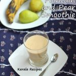 Ripe Plantain Pear Smoothie